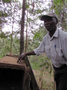Nicodemus Mwangi from Nakuru Kenya was one of the expert beekeepers interviewed.